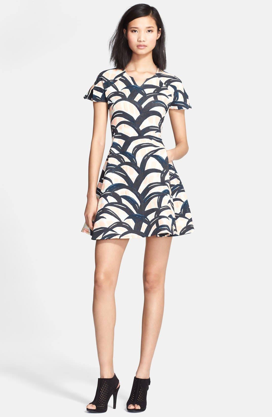 Main Image - KENZO Patterned Cotton Dress