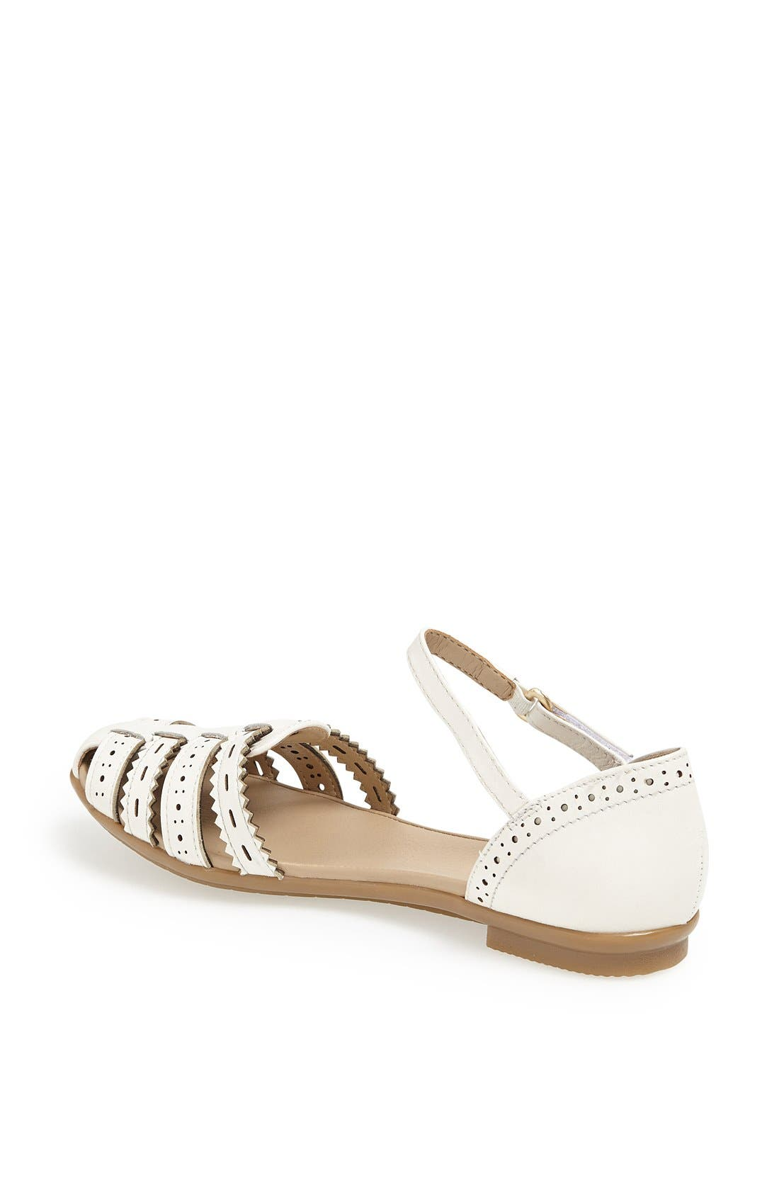 Alternate Image 2  - Easy Spirit 'e360 - Galfriday' Pinked & Perforated Leather Quarter Strap Sandal (Women)