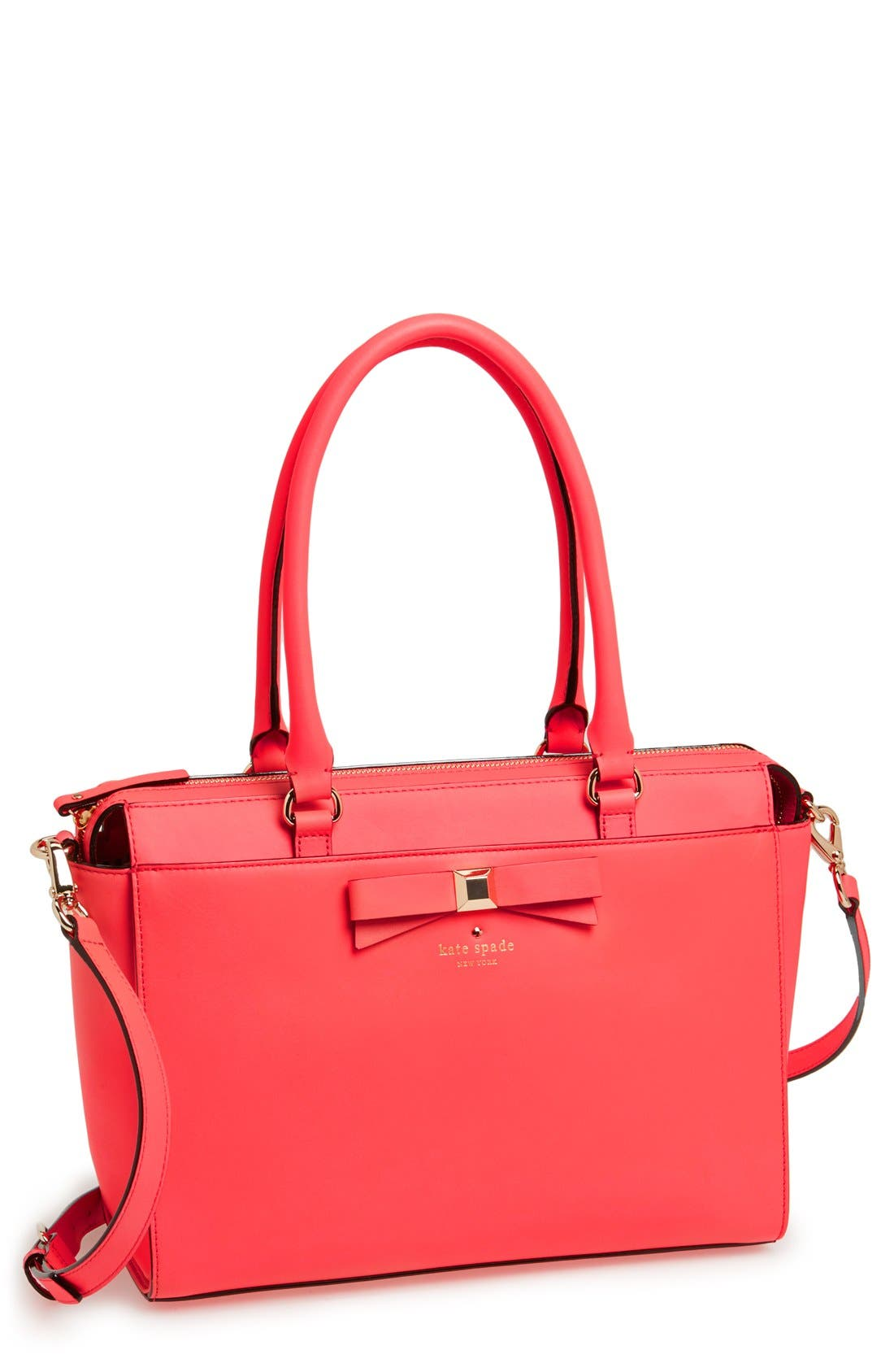Alternate Image 1 Selected - kate spade new york 'holly street - jeanne' leather tote