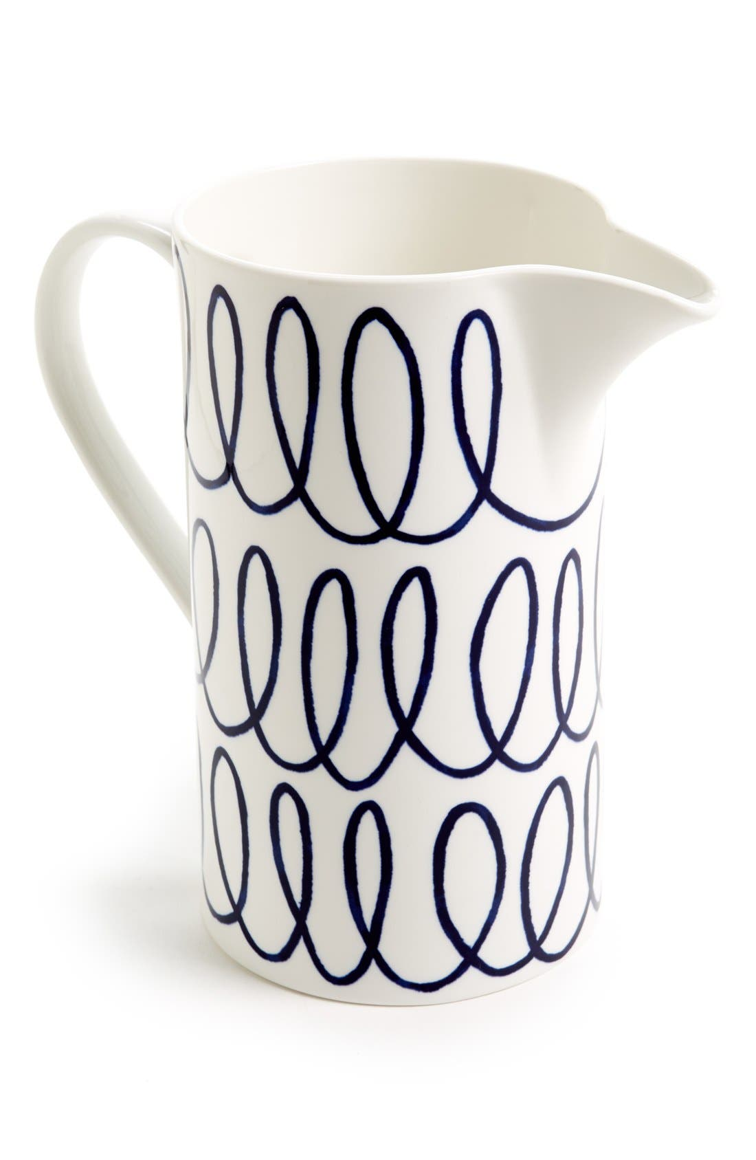 Alternate Image 1 Selected - kate spade new york 'charlotte street east' pitcher