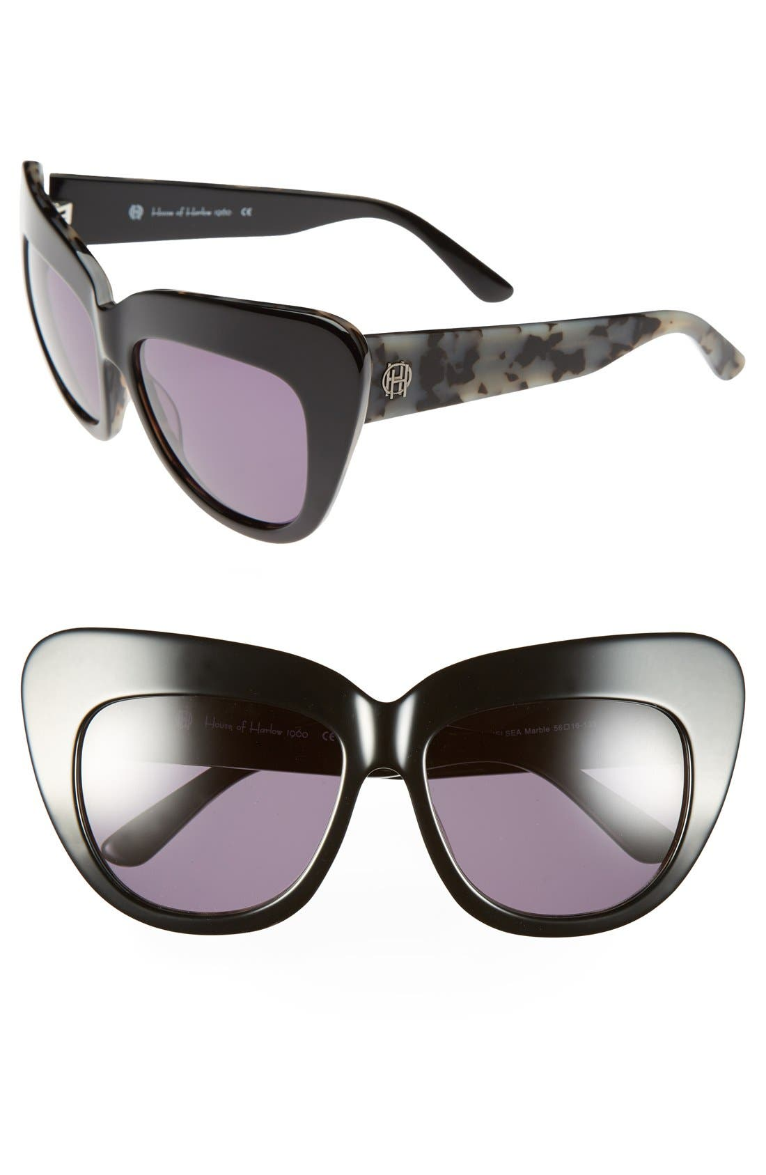 Alternate Image 1 Selected - House of Harlow 1960 'Chelsea' 56mm Sunglasses