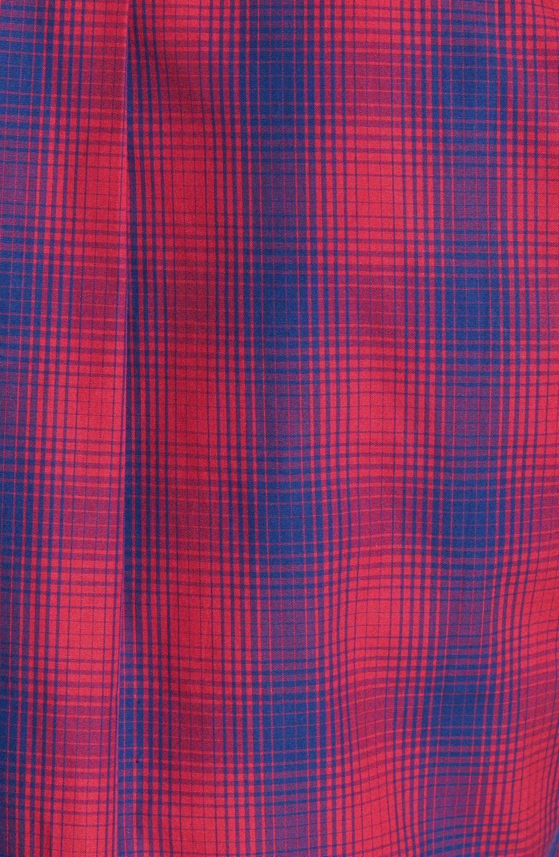 Alternate Image 2  - Descendant of Thieves Ombré Short Sleeve Plaid Shirt