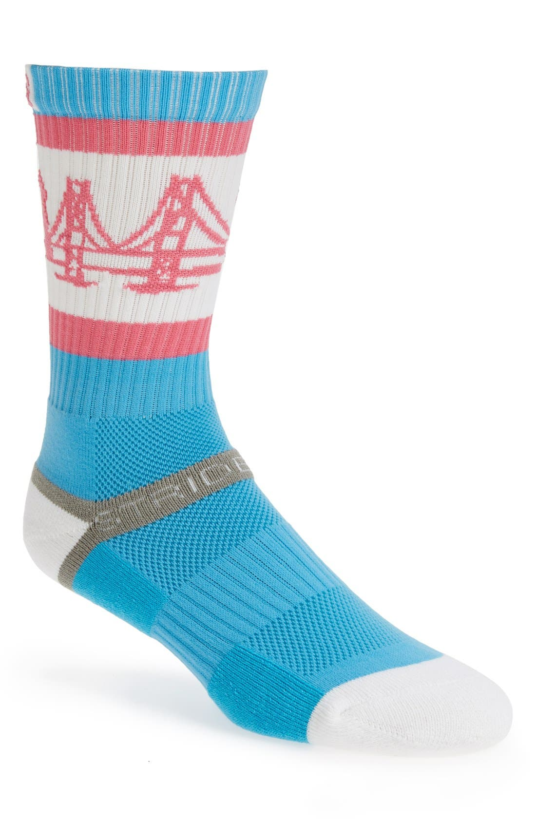 Alternate Image 1 Selected - STRIDELINE 'The Bay' Socks