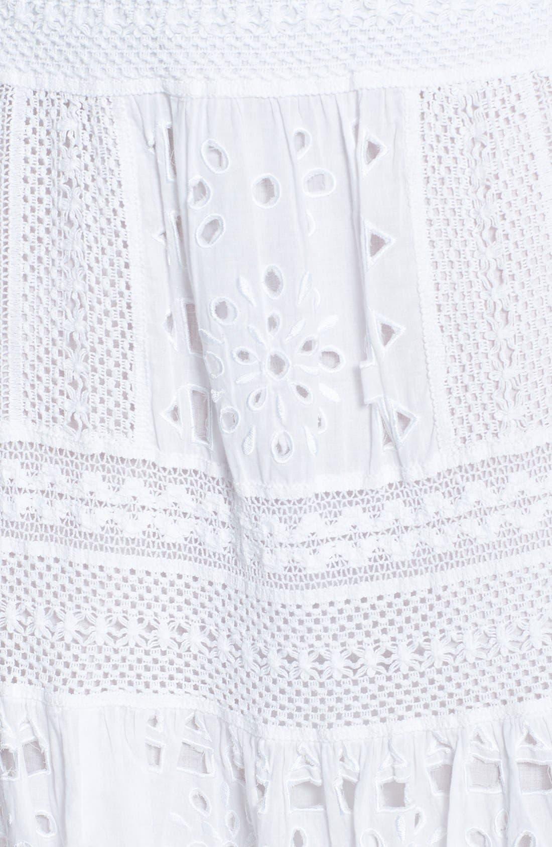 Alternate Image 3  - MICHAEL Michael Kors Eyelet Skirt