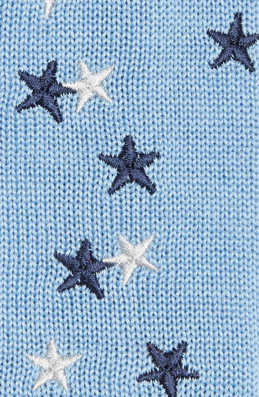 Alternate Image 2  - Ivy Prepster 'Stars' Knit Cotton Tie