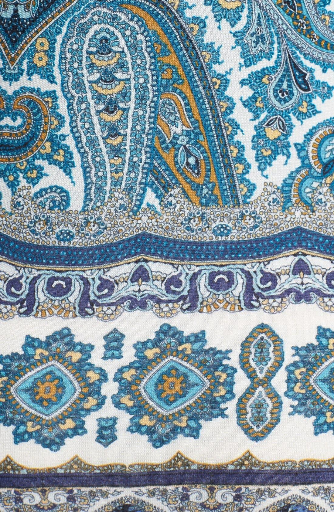 Alternate Image 3  - Velvet by Graham & Spencer 'Taj' Paisley Print Jersey Maxi Dress