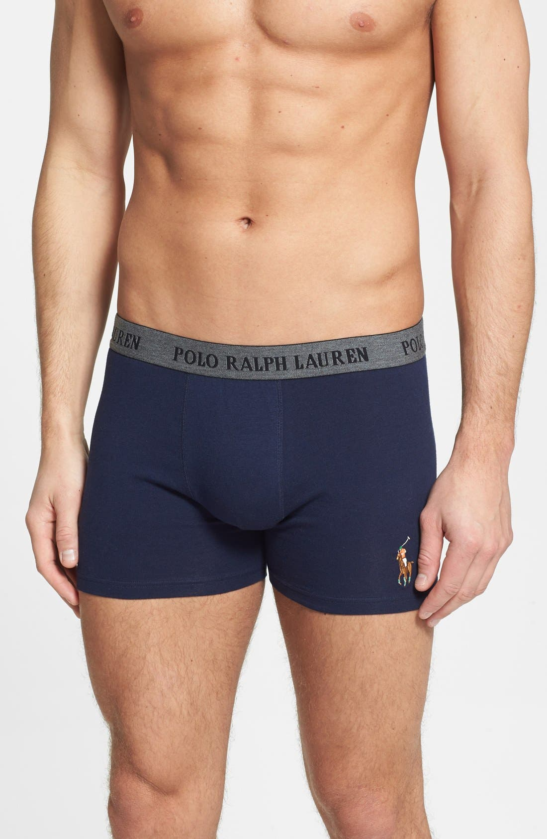 Alternate Image 1 Selected - Polo Ralph Lauren Boxer Briefs (2 for $36.50)