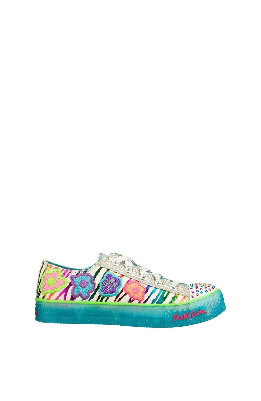 Alternate Image 2  - SKECHERS 'Boogie Lights' Sneaker (Toddler, Little Kid & Big Kid)