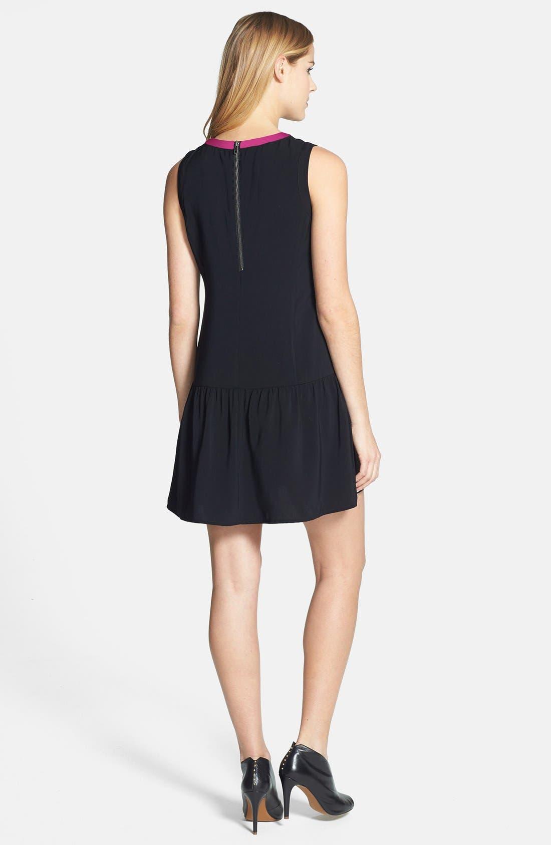 Alternate Image 2  - Halogen® Sleeveless Drop Waist Dress
