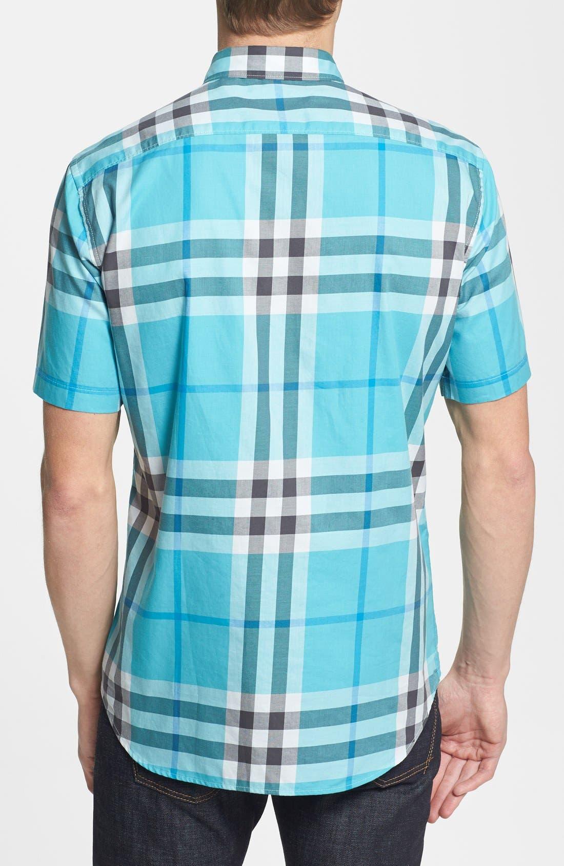 Alternate Image 2  - Burberry Brit 'Rhys' Short Sleeve Sport Shirt