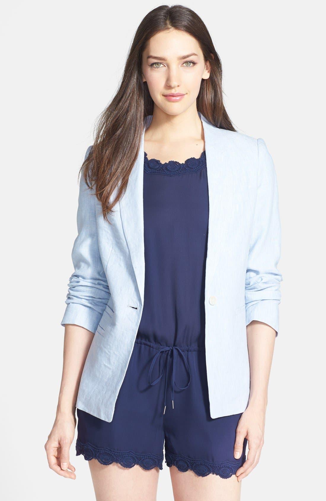 Alternate Image 1 Selected - Joie 'Mehira B.' Linen Blazer