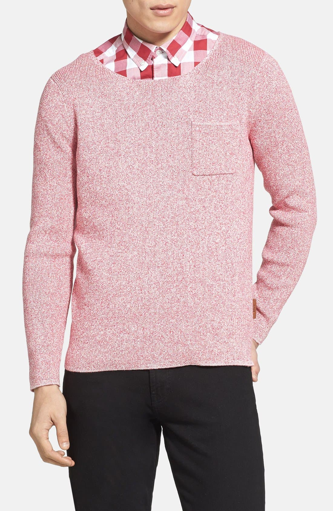 Alternate Image 1 Selected - Burberry Brit 'Hammonds' Modern Fit Knit Sweater
