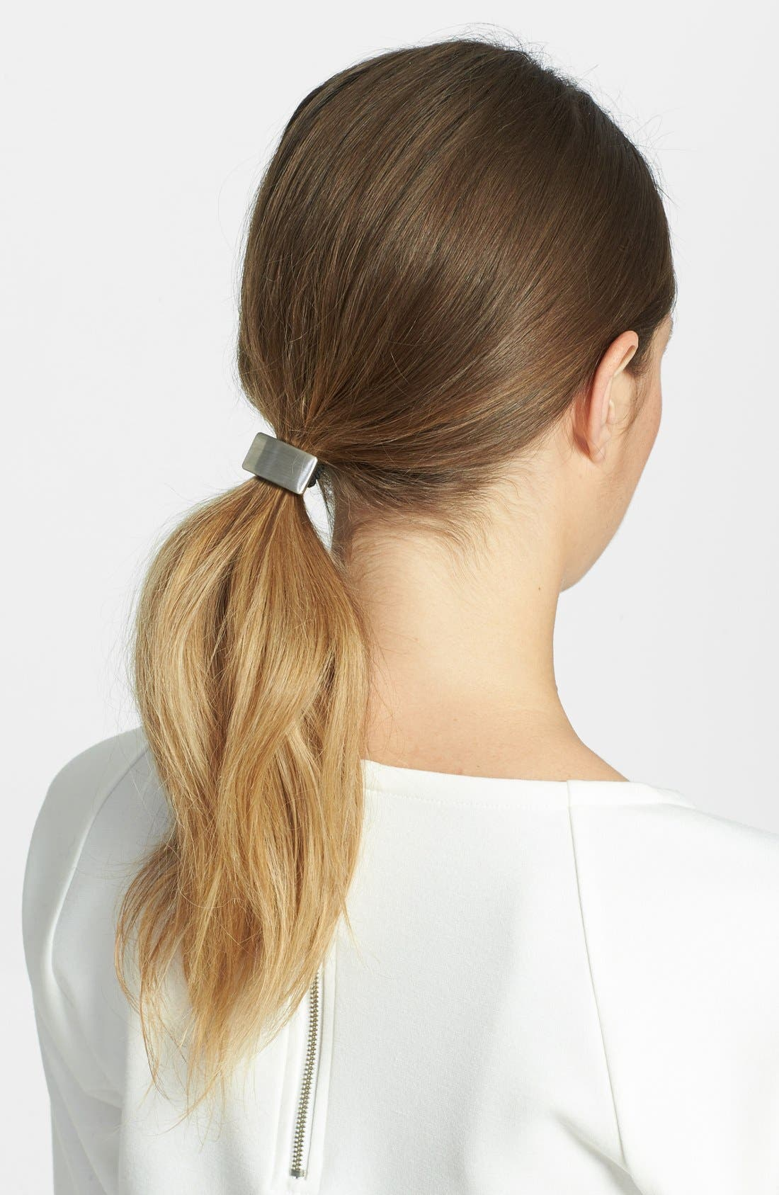 Main Image - Tasha Rectangle Cuff Ponytail Holder