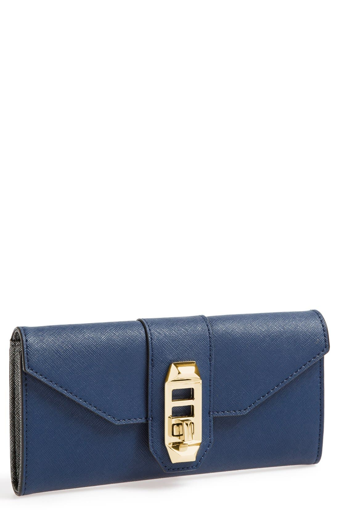 Alternate Image 1 Selected - Rebecca Minkoff 'Mason' Turnlock Wallet