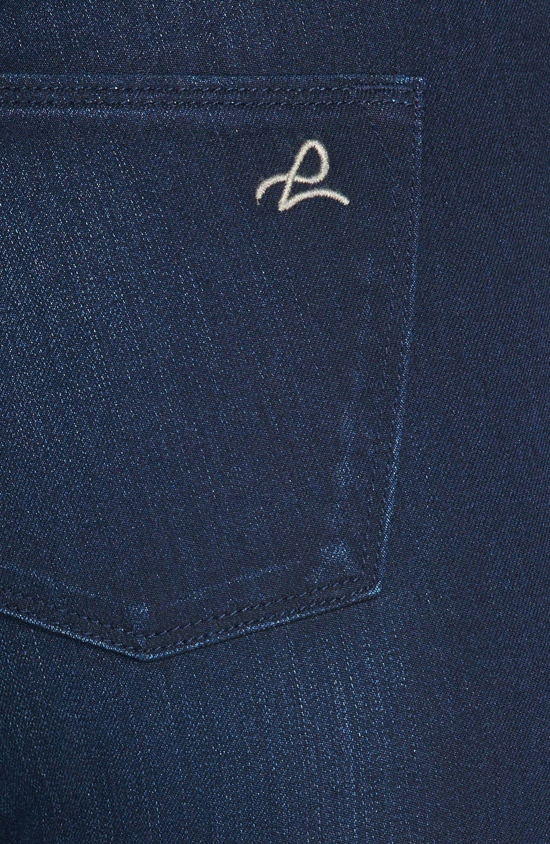 Alternate Image 3  - DL1961 'Coco' Curvy Straight Jeans (Wooster)