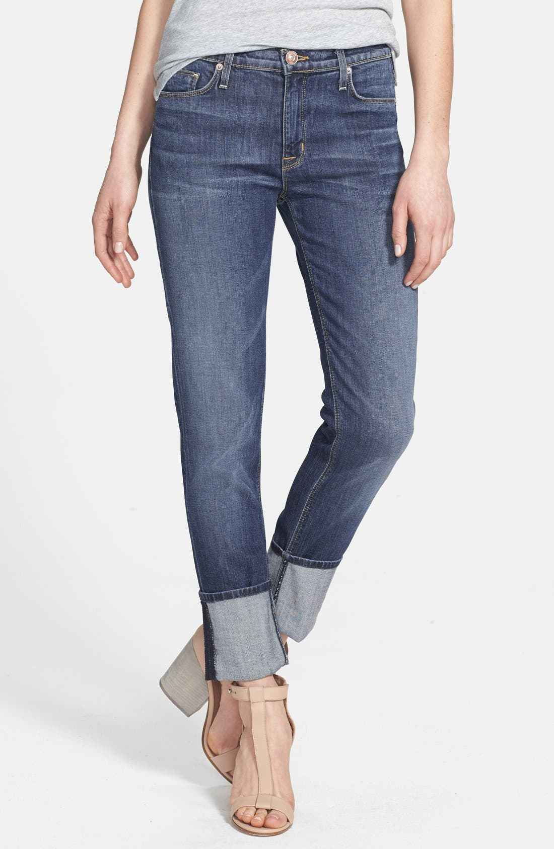Main Image - Hudson Jeans 'Muse' Cuff Crop Jeans (Indie)