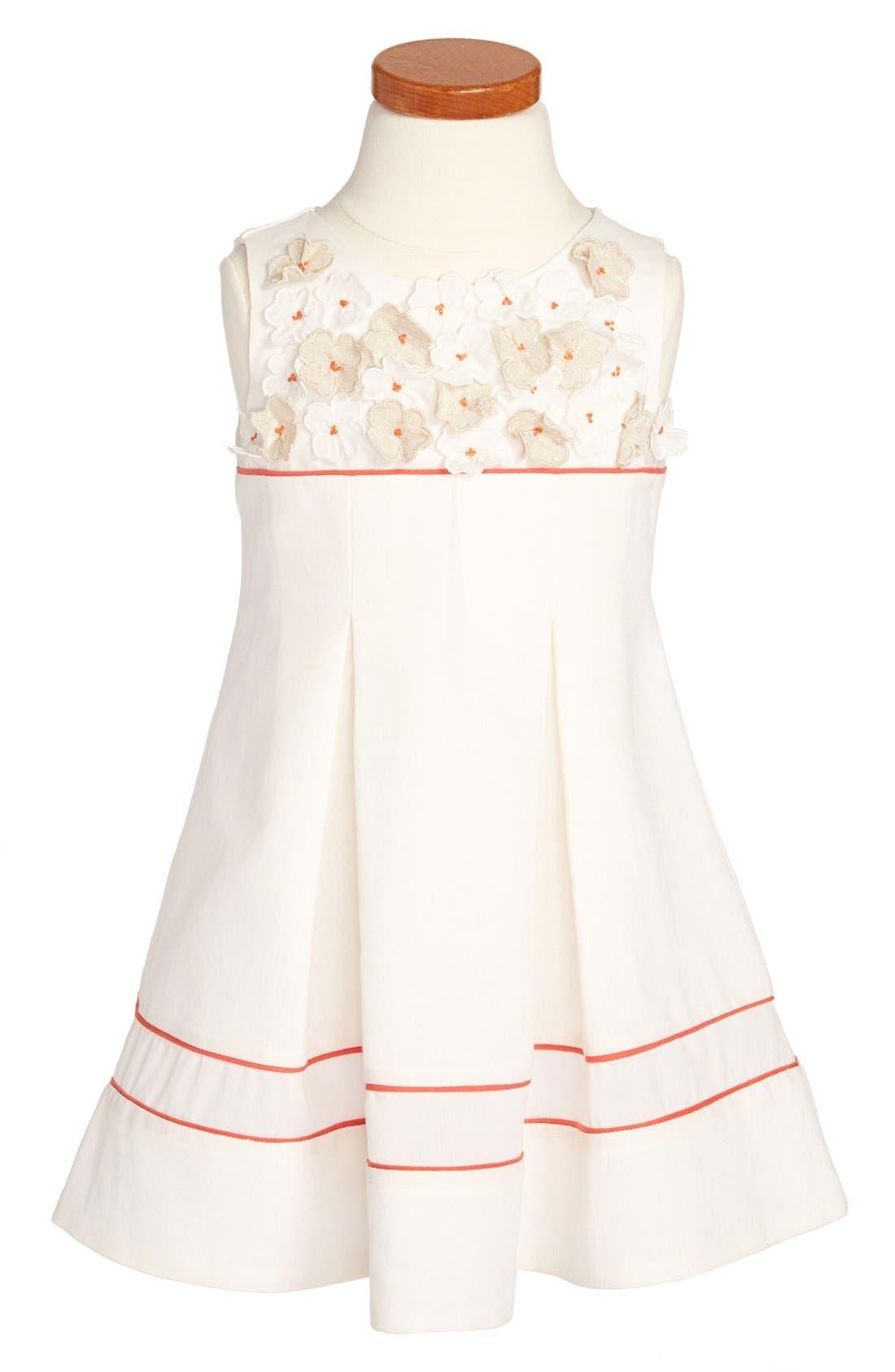 Alternate Image 1 Selected - Luli & Me Sleeveless Dress (Toddler Girls, Little Girls & Big Girls)