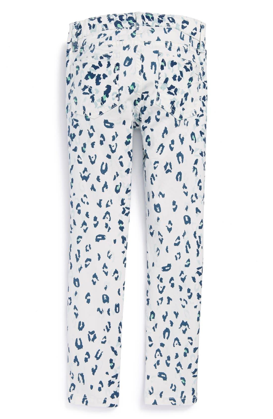 Alternate Image 1 Selected - Joe's Leopard Print Jeggings (Little Girls)