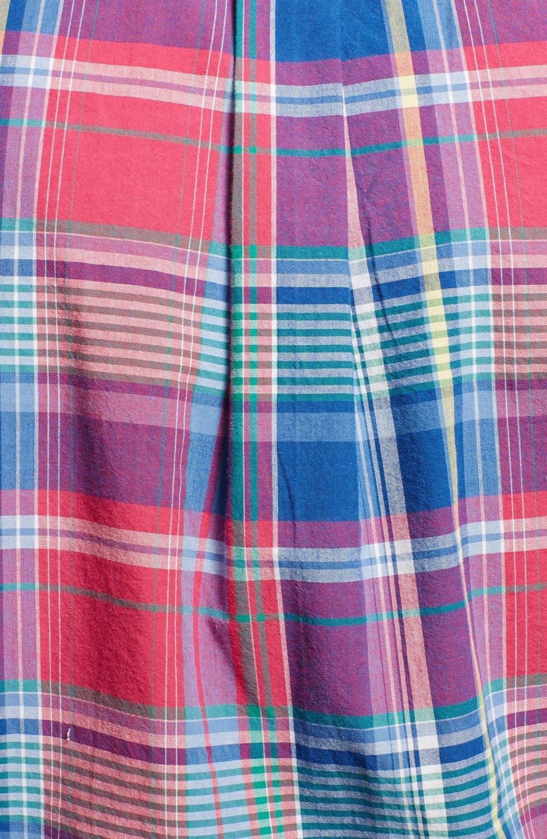 Alternate Image 3  - Polo Ralph Lauren Regular Fit Madras Sport Shirt