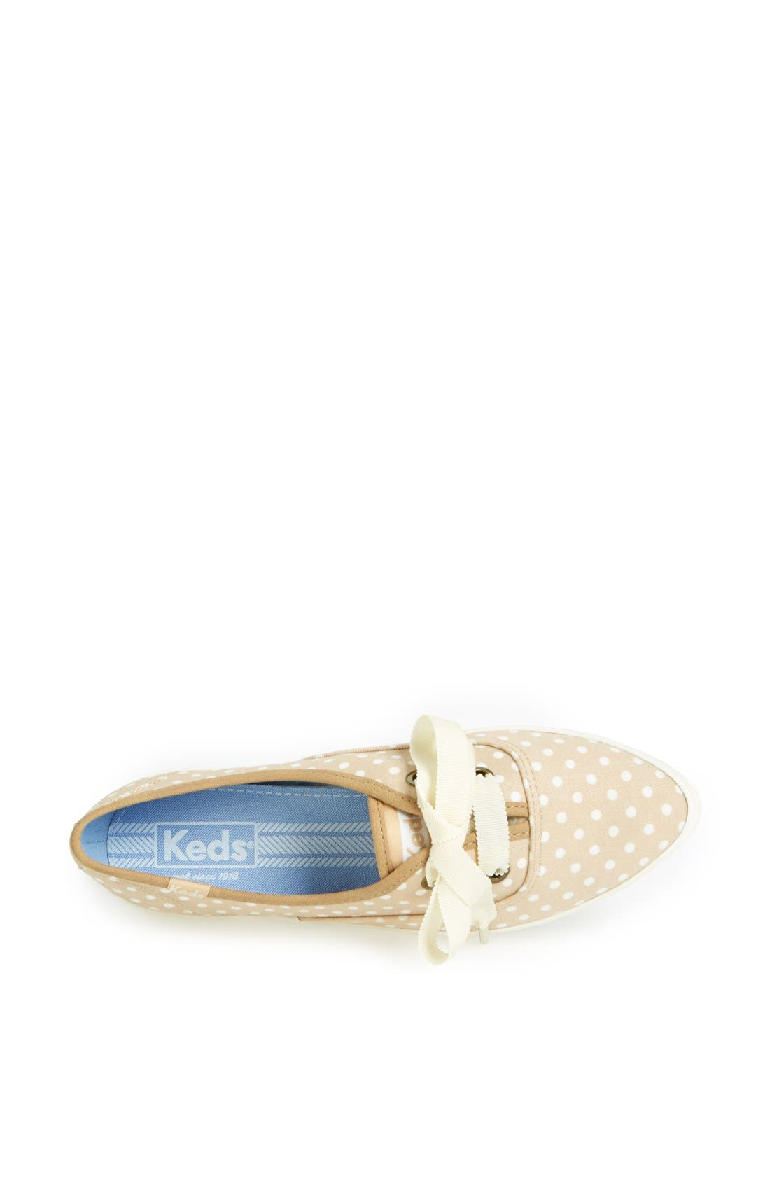 Alternate Image 3  - Keds® 'Pointer' Polka Dot Canvas Sneaker (Women)