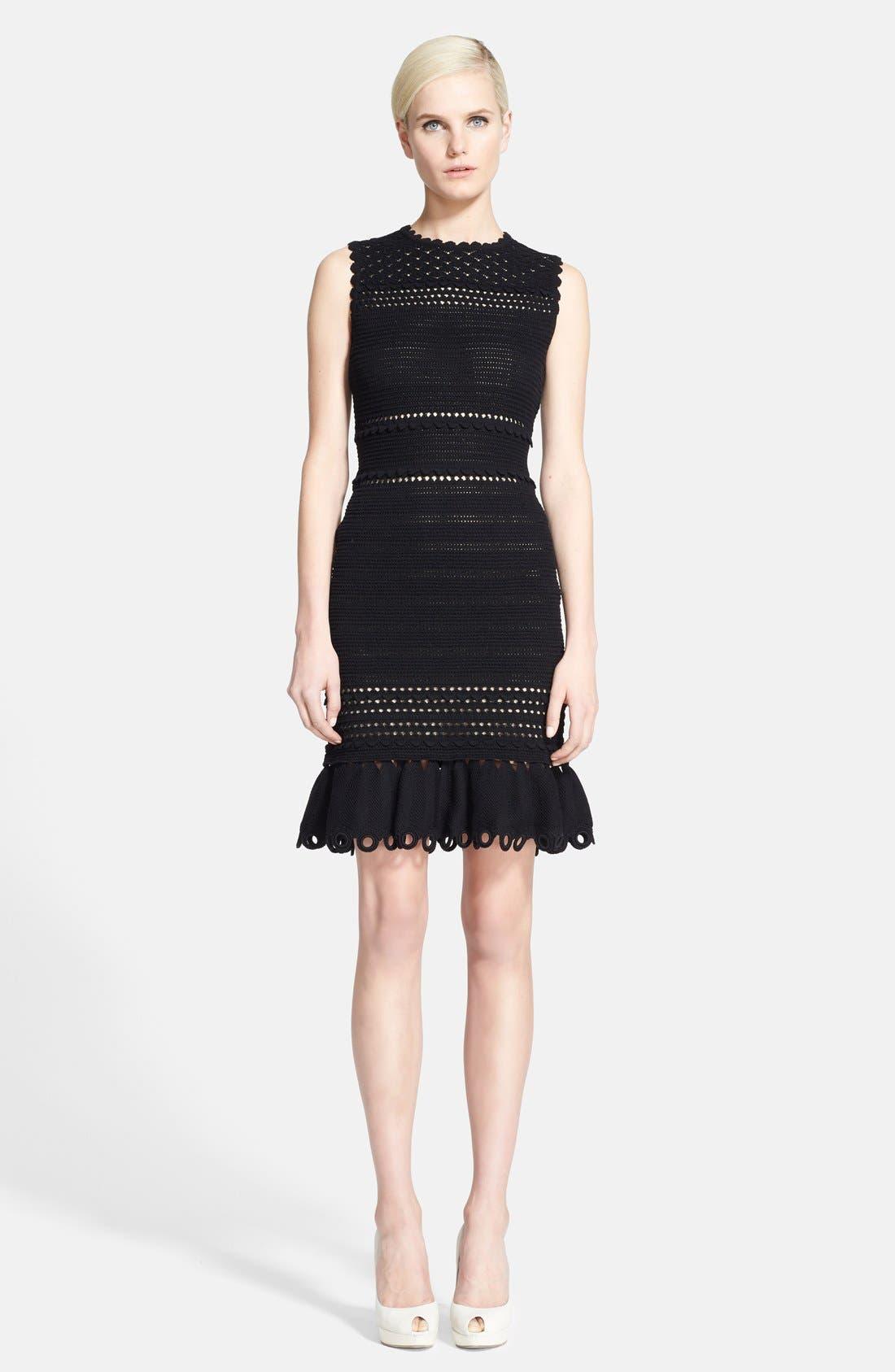 Main Image - Alexander McQueen Sleeveless Crochet Dress