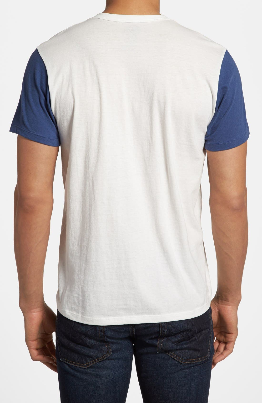 Alternate Image 2  - 47 Brand 'Chicago Cubs - RBI' Henley T-Shirt