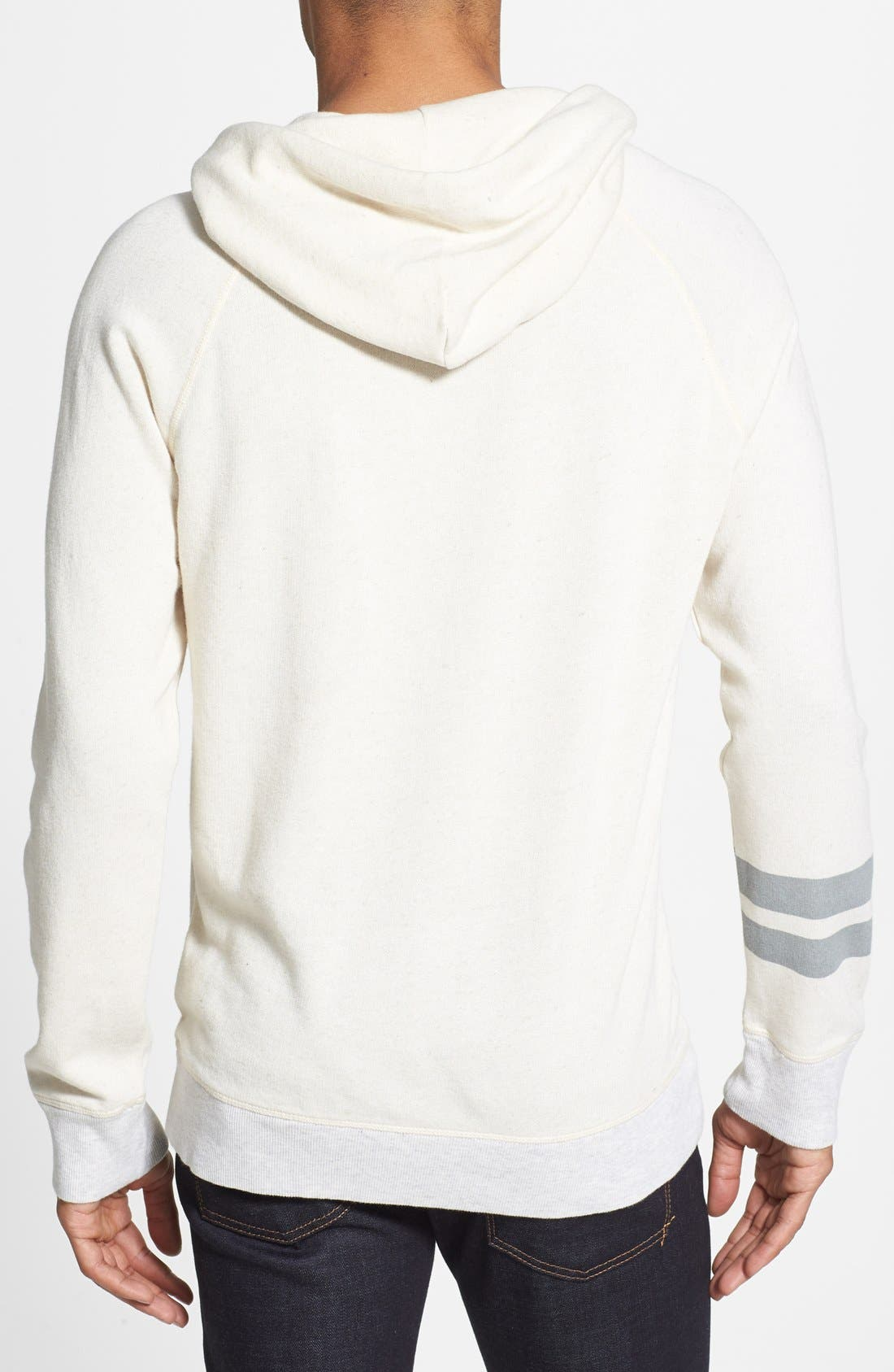 Alternate Image 2  - True Religion Knit Raglan Hoodie