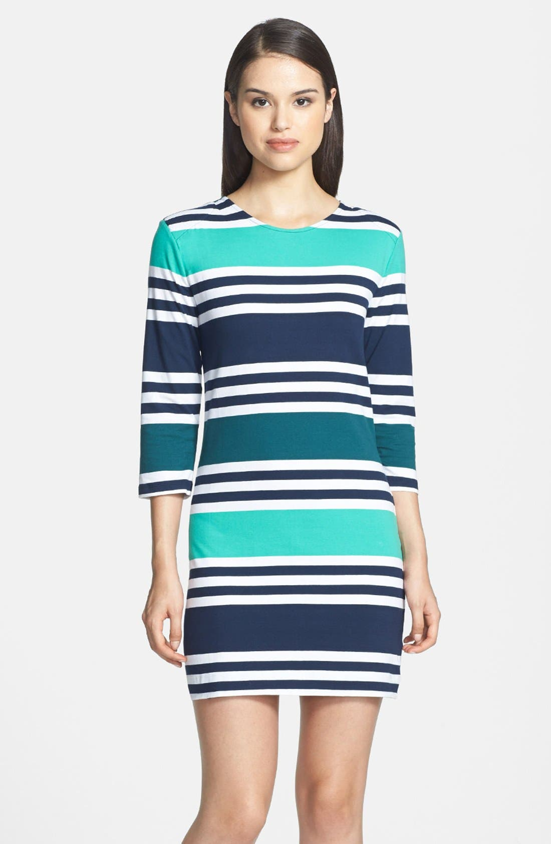 Main Image - French Connection 'Jag' Multi Stripe Jersey Dress
