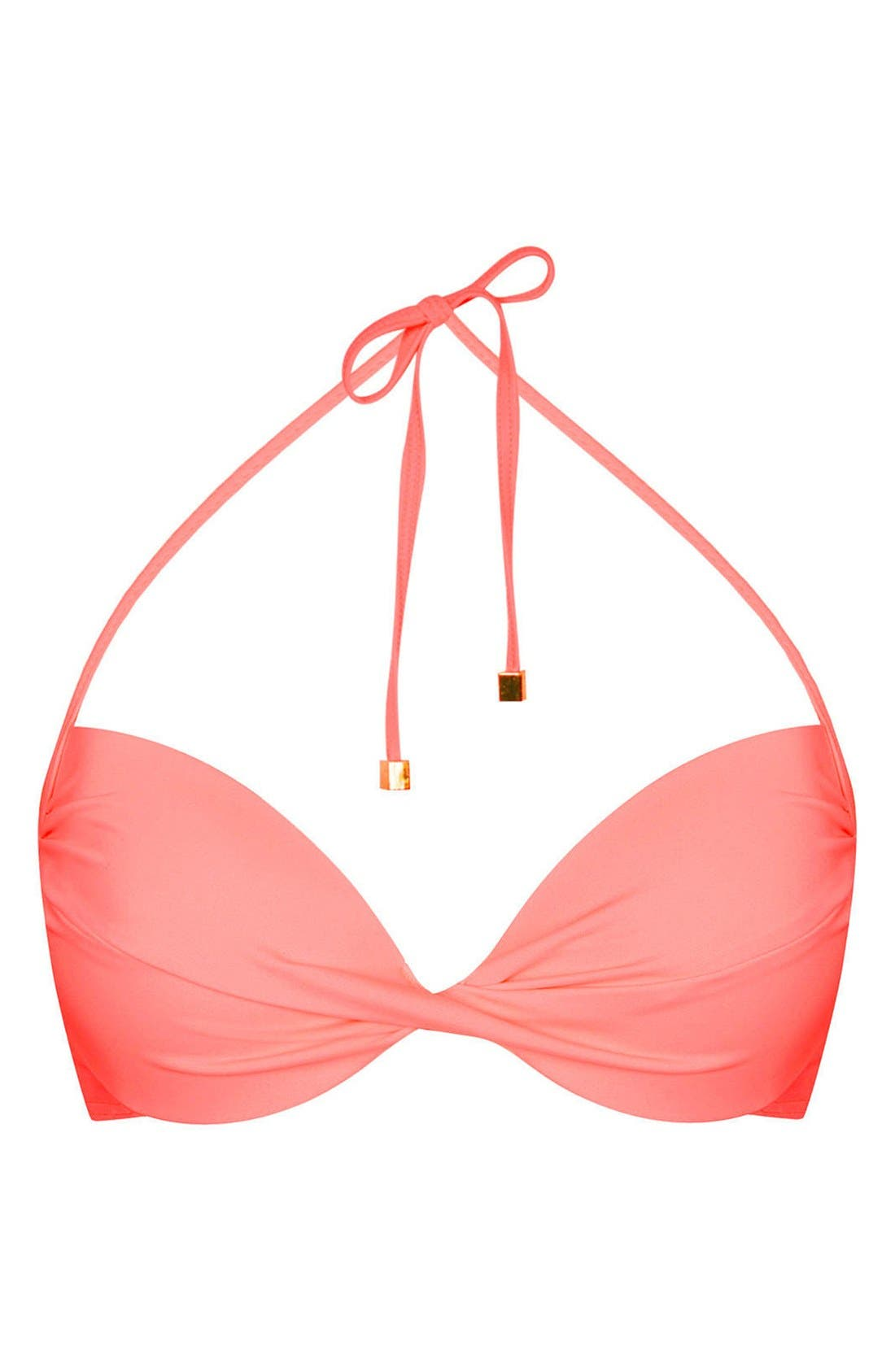 Main Image - Topshop Plunge Bikini Top