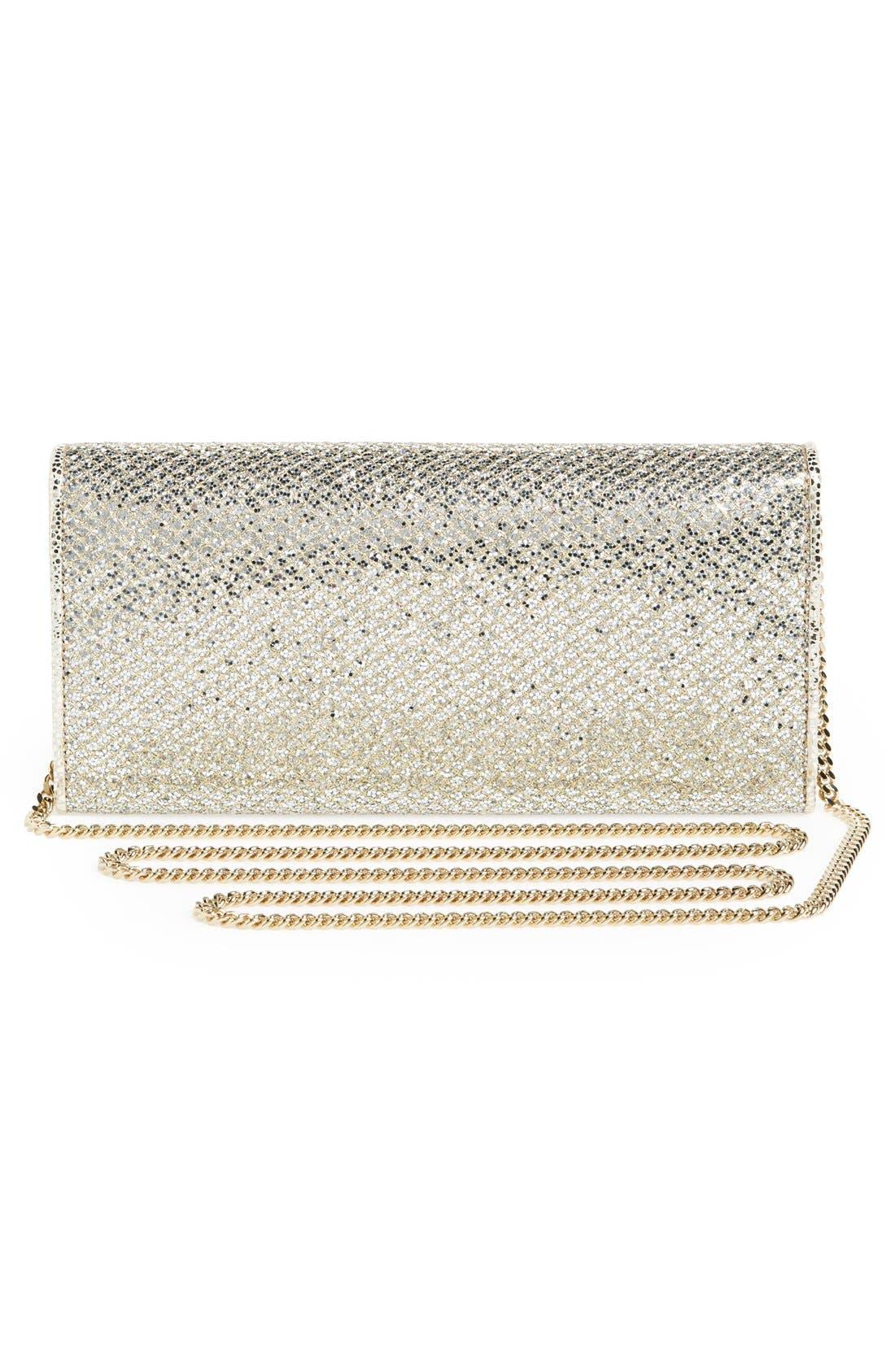 Alternate Image 3  - Jimmy Choo 'Milla' Glitter Wallet on a Chain