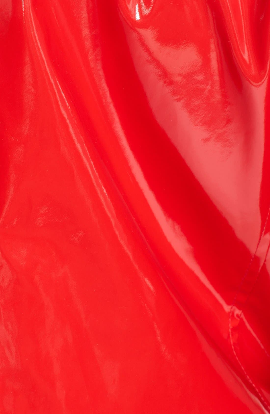 Alternate Image 3  - Jane Post 'Princess' Rain Slicker with Detachable Hood