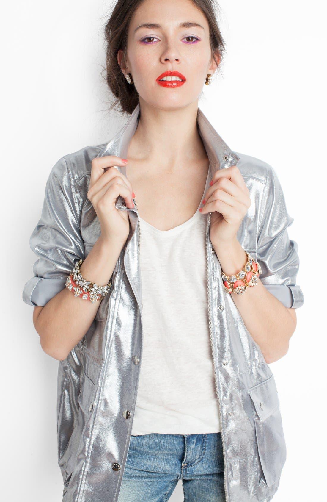 Alternate Image 4  - BaubleBar Stone Stretch Bracelet