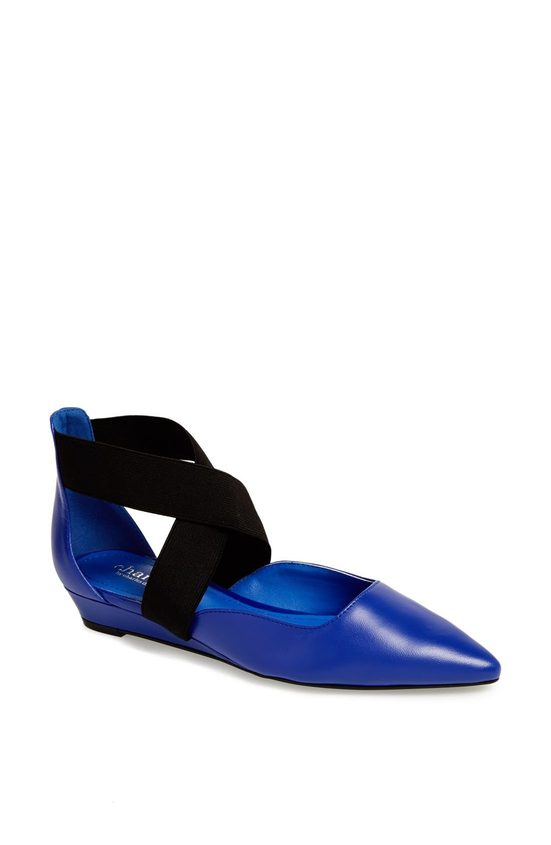 Alternate Image 1 Selected - Charles by Charles David 'Bisque' Pointy Toe Flat