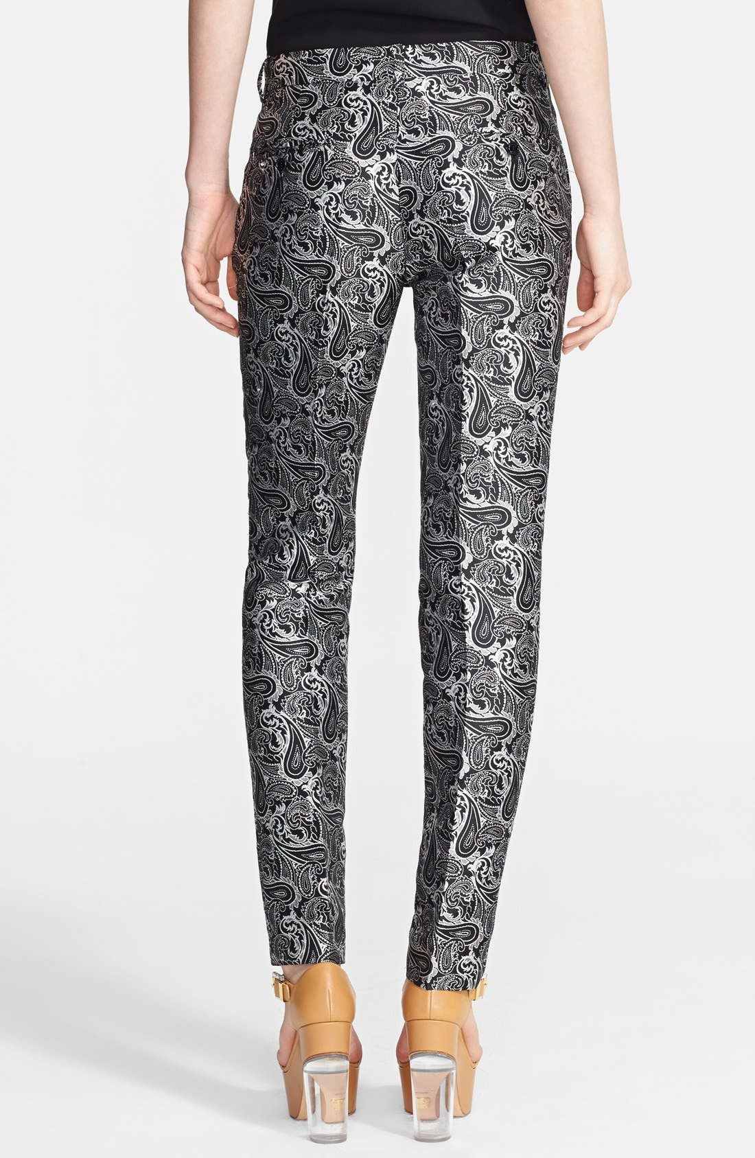Alternate Image 2  - Michael Kors 'Samantha' Skinny Paisley Pants