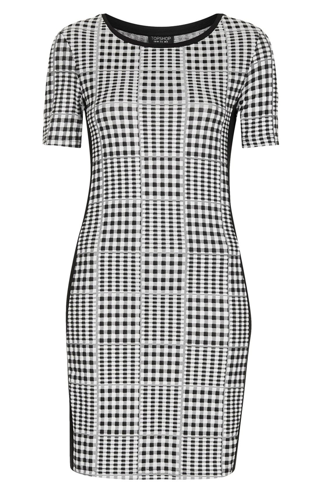 Alternate Image 3  - Topshop Gingham Body-Con Dress