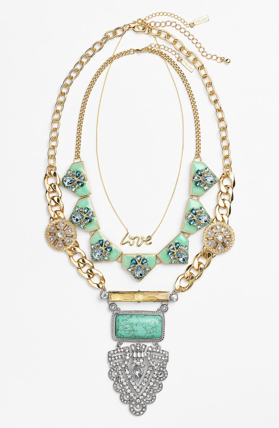 Alternate Image 2  - BaubleBar 'Inca Priestess' Pendant Necklace