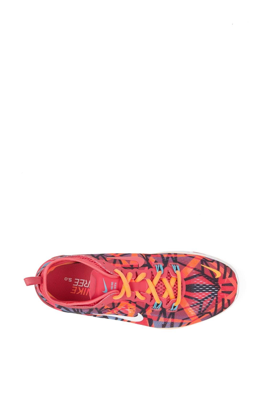 Alternate Image 3  - Nike 'Free 5.0 TR Fit 4' Print Training Shoe (Women)