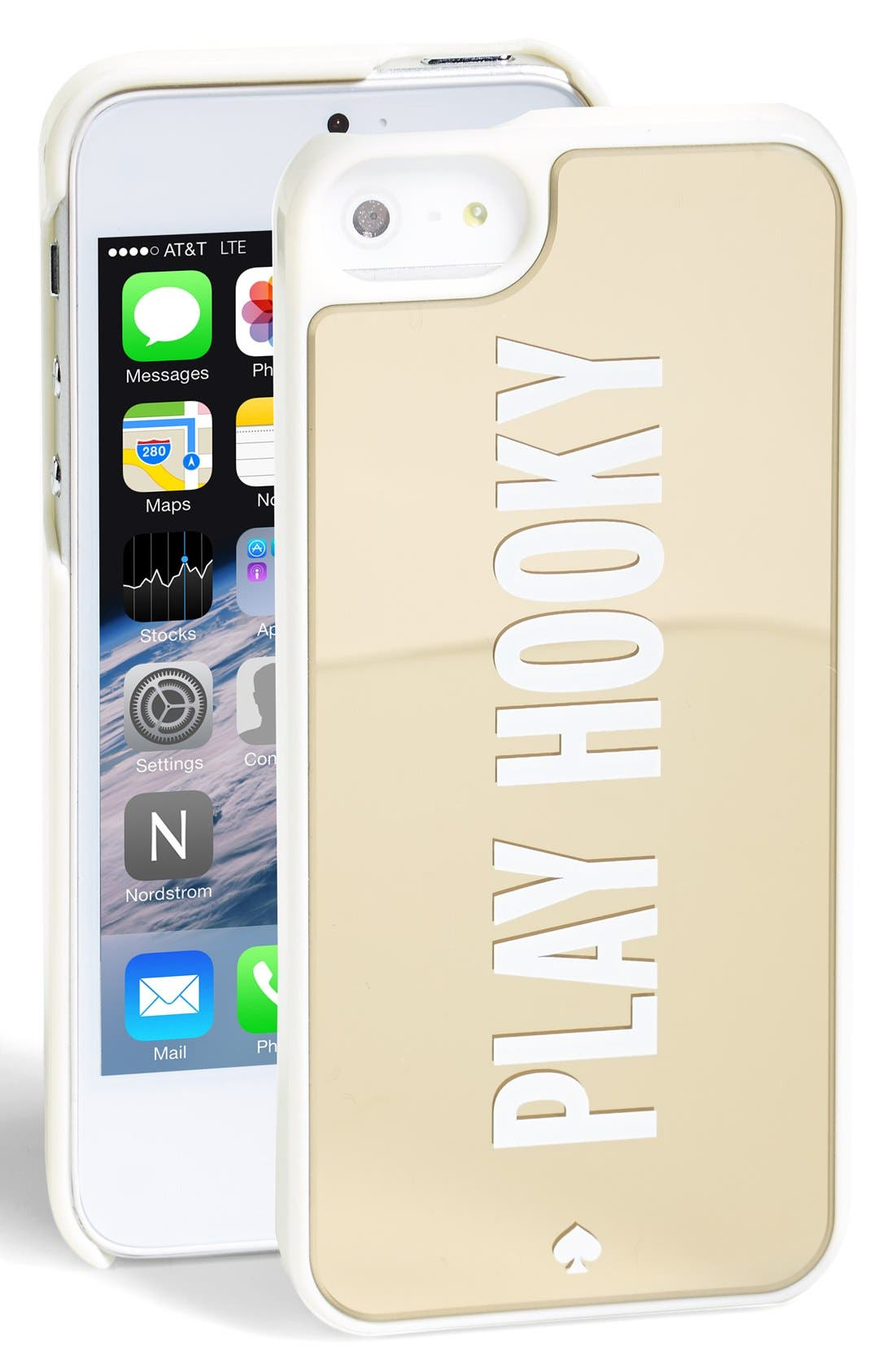 Alternate Image 1 Selected - kate spade new york 'play hooky' iPhone 5 & 5s case