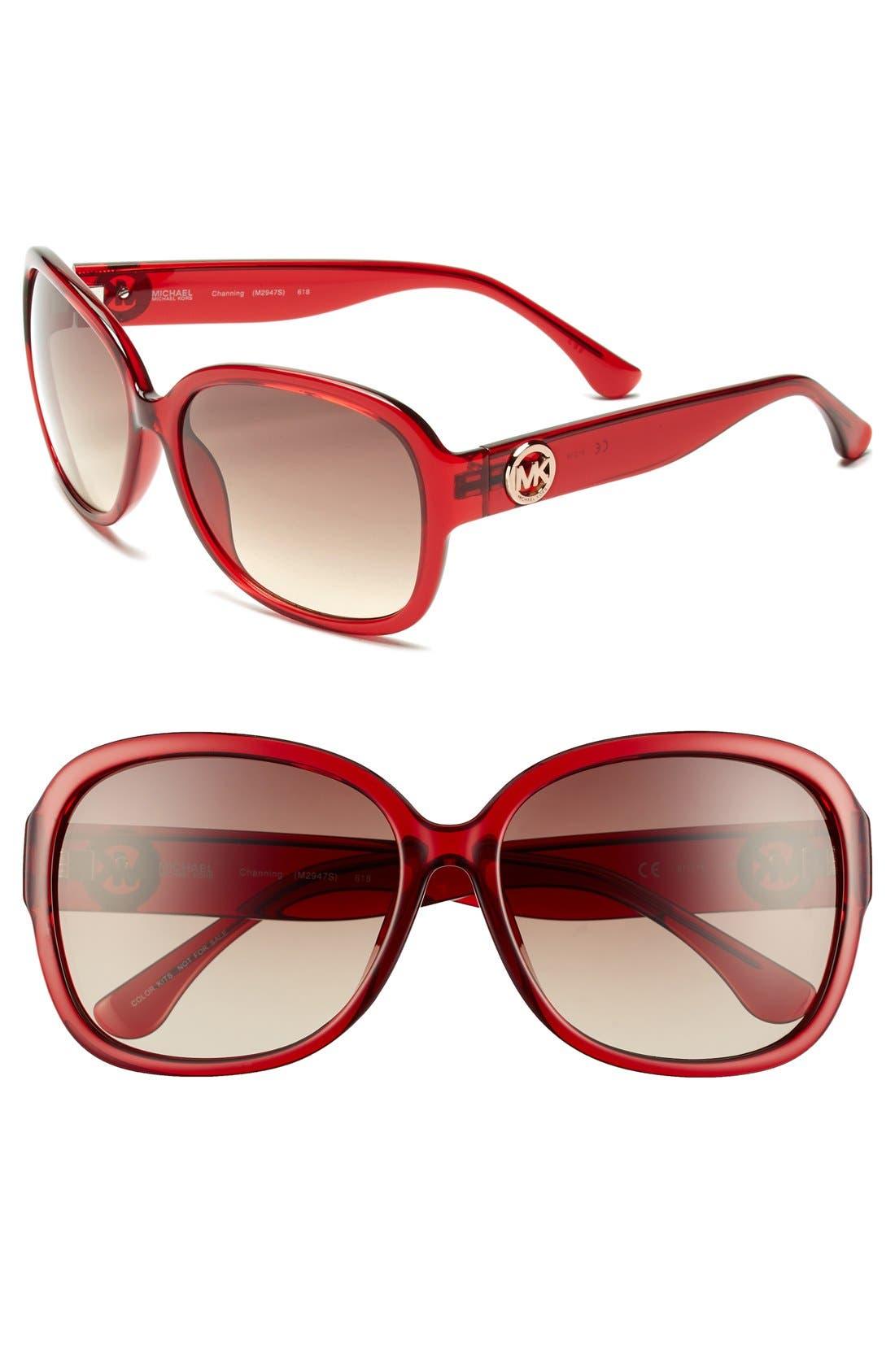 Alternate Image 1 Selected - MICHAEL Michael Kors 61mm Sunglasses