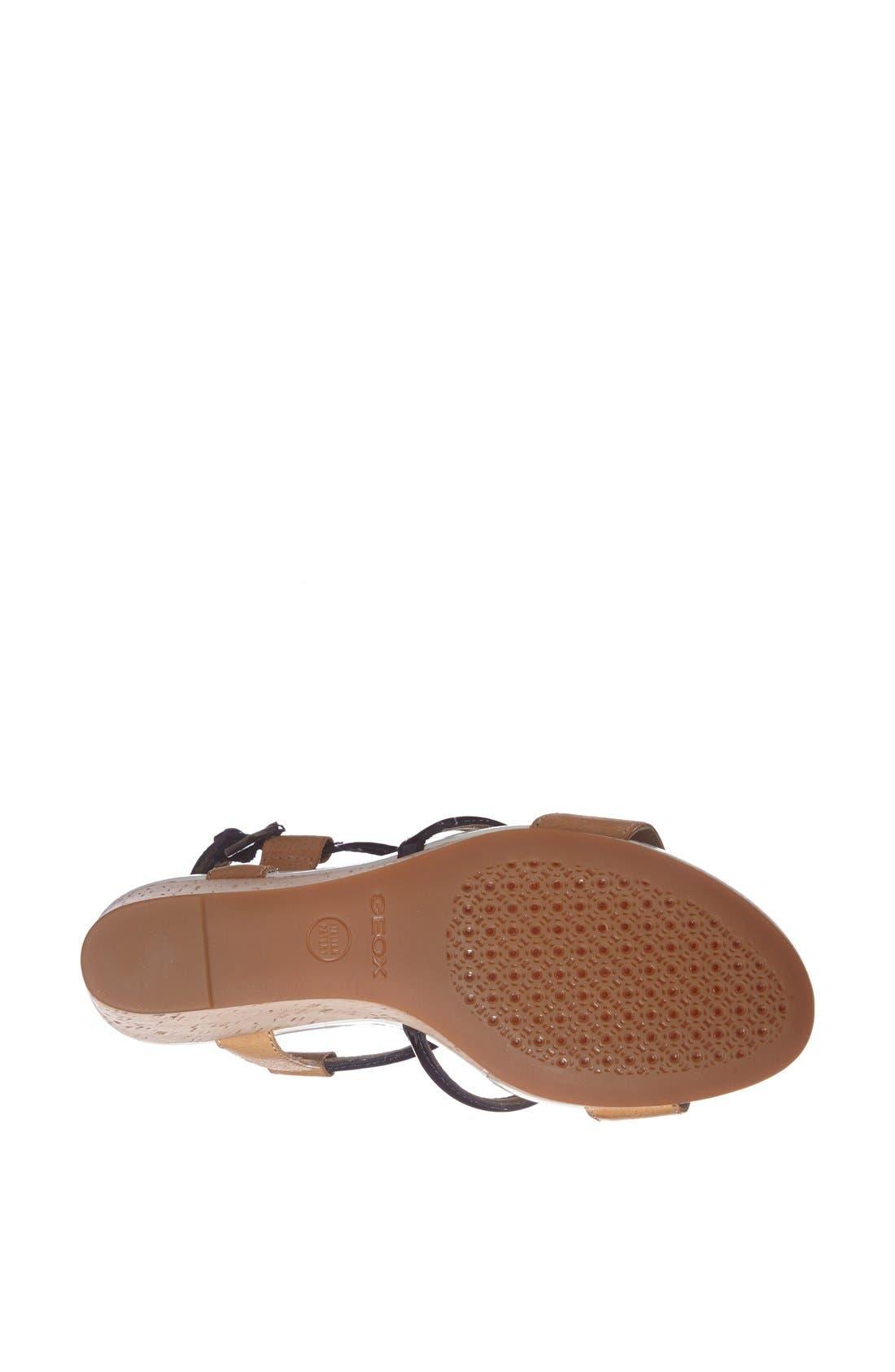Alternate Image 4  - Geox 'Victory' Wedge Sandal