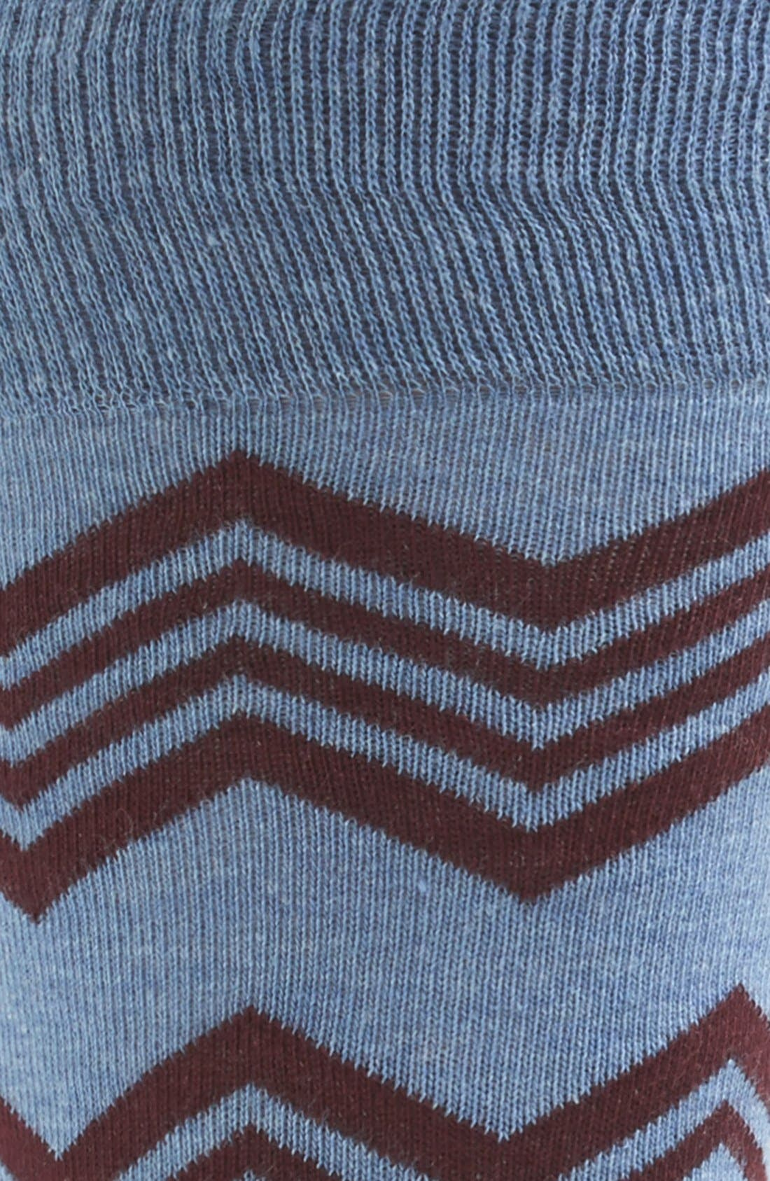Alternate Image 2  - Etiquette Clothiers 'Alpine' Stripe Socks