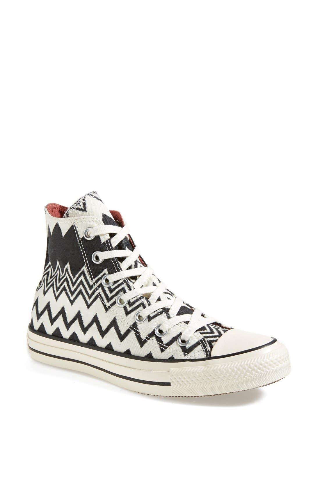 Main Image - Converse x Missoni Chuck Taylor® All Star® High Top Sneaker (Women)