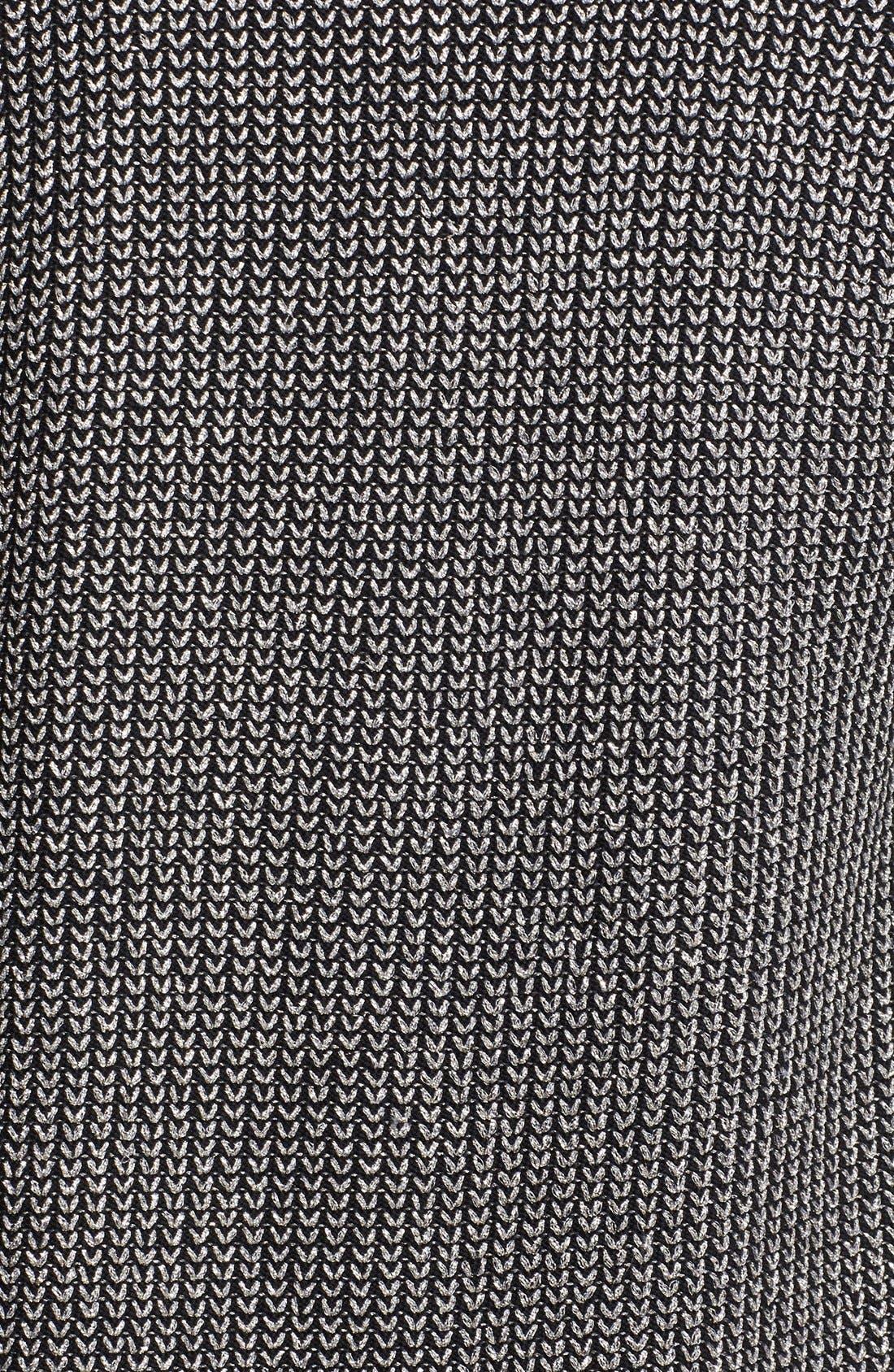 Alternate Image 3  - St. John Collection Lace Trim Metallic Micro Knit Jacket