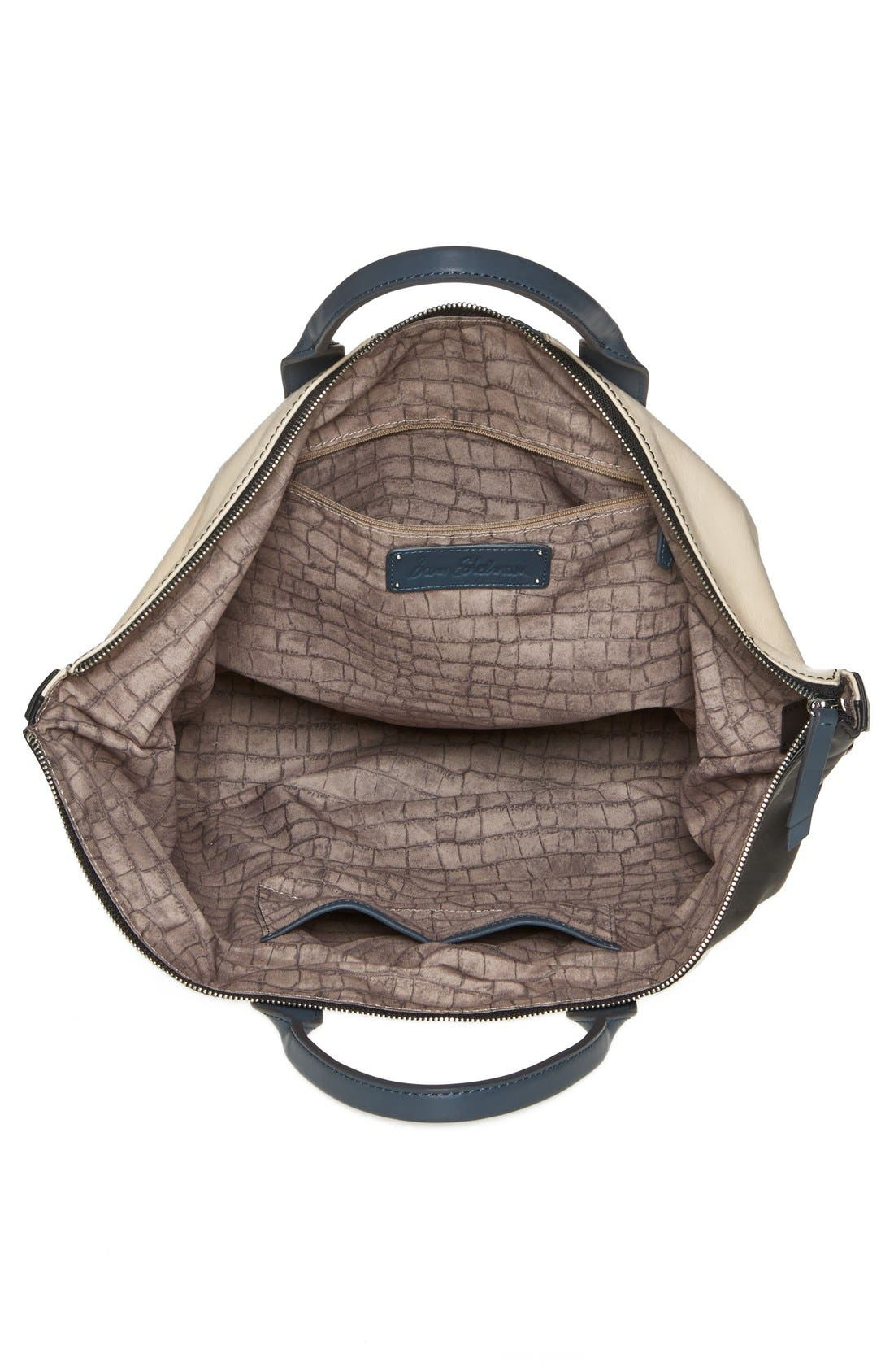 Alternate Image 3  - Sam Edelman 'Sharp Graphic' Leather Satchel