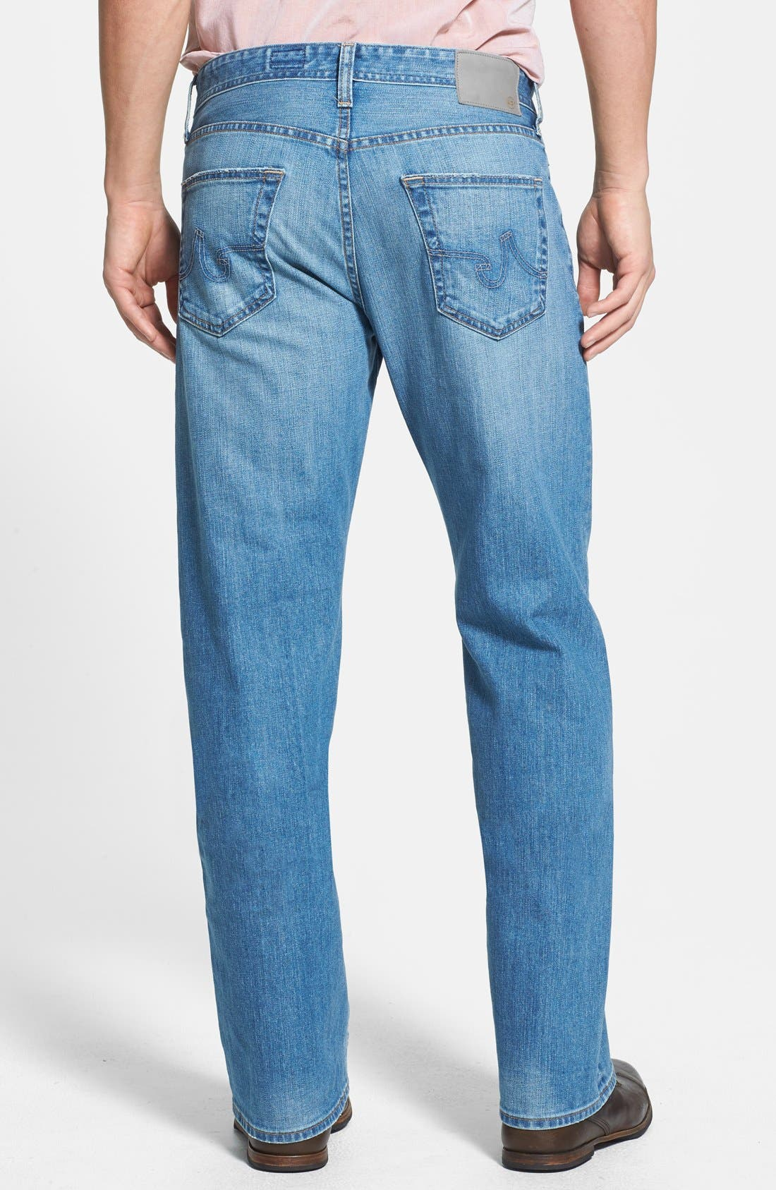 Alternate Image 2  - AG 'Hero' Relaxed Fit Jeans (Max) (Online Only)
