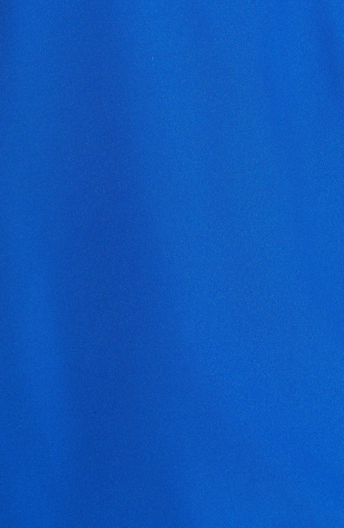 Alternate Image 3  - MICHAEL Michael Kors Chain Neck Faux Wrap Front Blouse