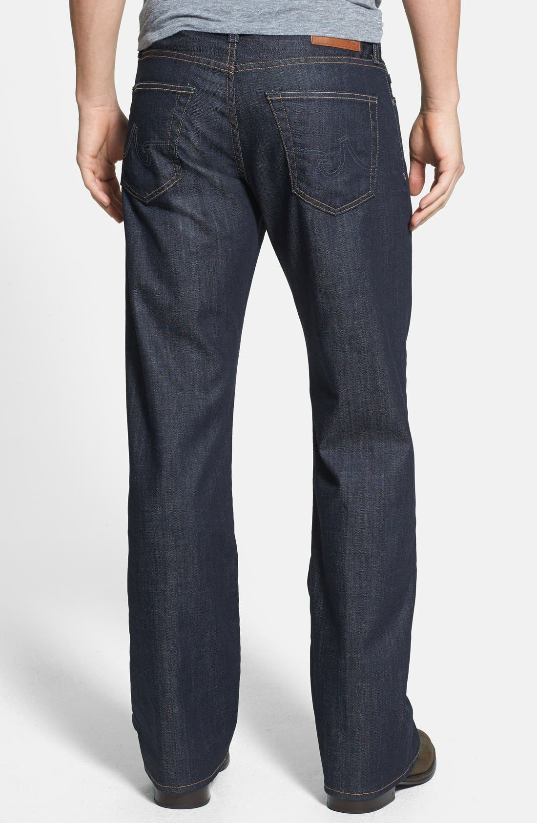 Alternate Image 2  - AG 'Hero' Relaxed Fit Jeans (Trench)