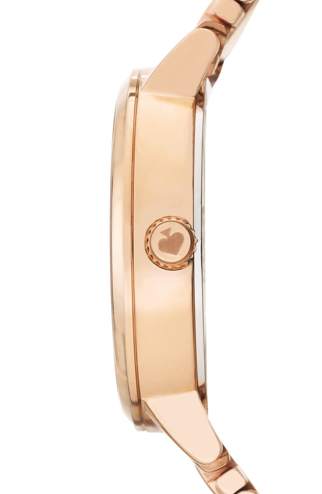 Alternate Image 3  - kate spade new york 'gramercy' multifunction bracelet watch, 34mm