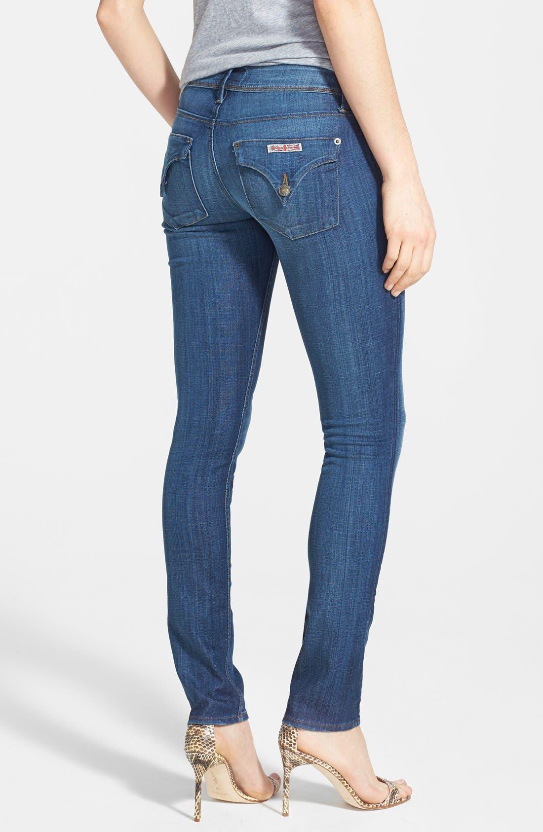 Alternate Image 2  - Hudson Jeans 'Collin' Skinny Jeans (Saville)