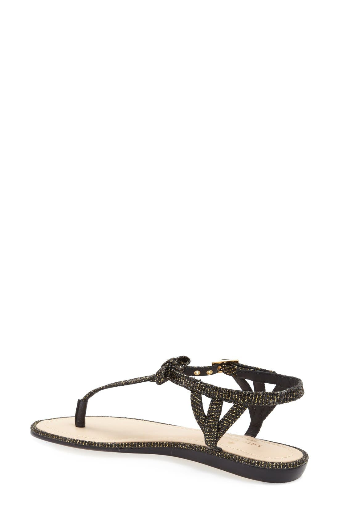 Alternate Image 2  - kate spade new york 'andrea' flat thong sandal